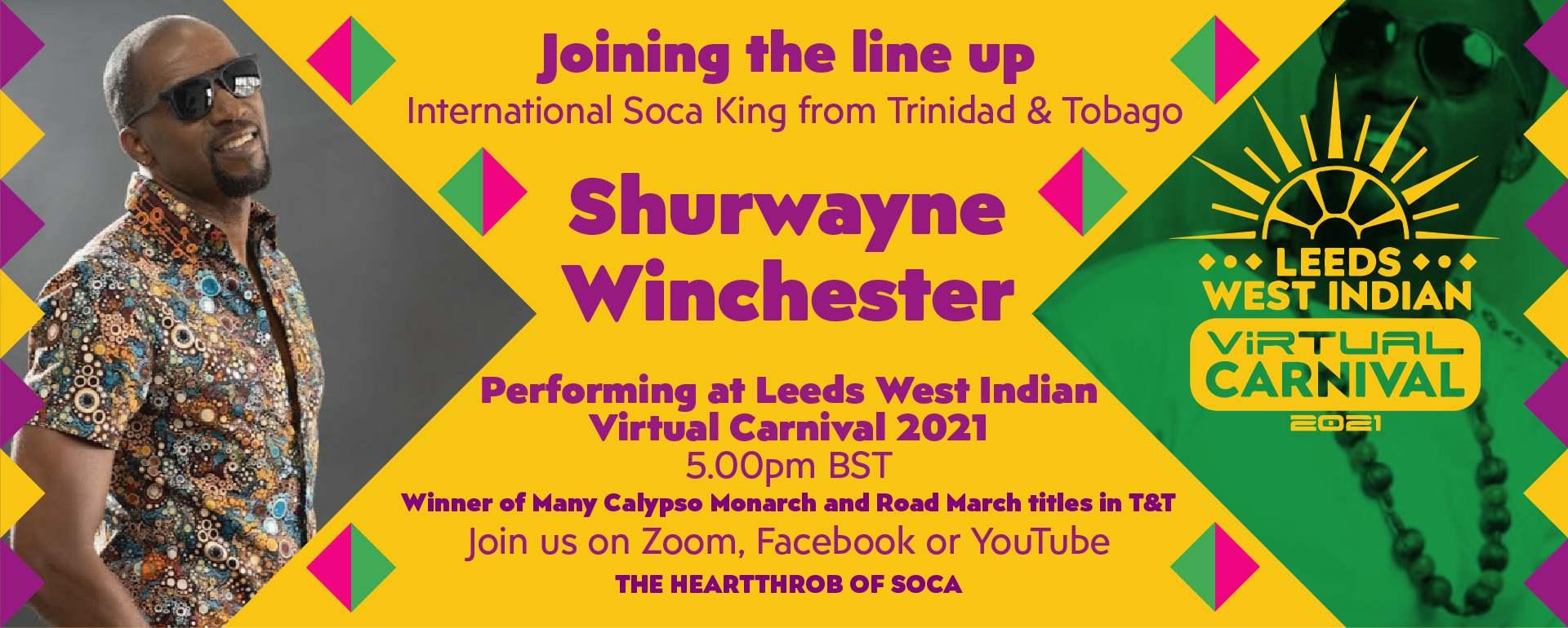 Sherwayne Winchester - Calypso At Leeds Carnival 2021